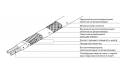 15VPL2-CT Греющий cамоограничивающийся кабель